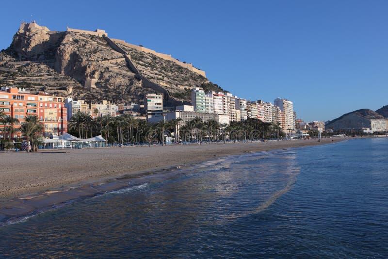 Beach of Alicante, Spain