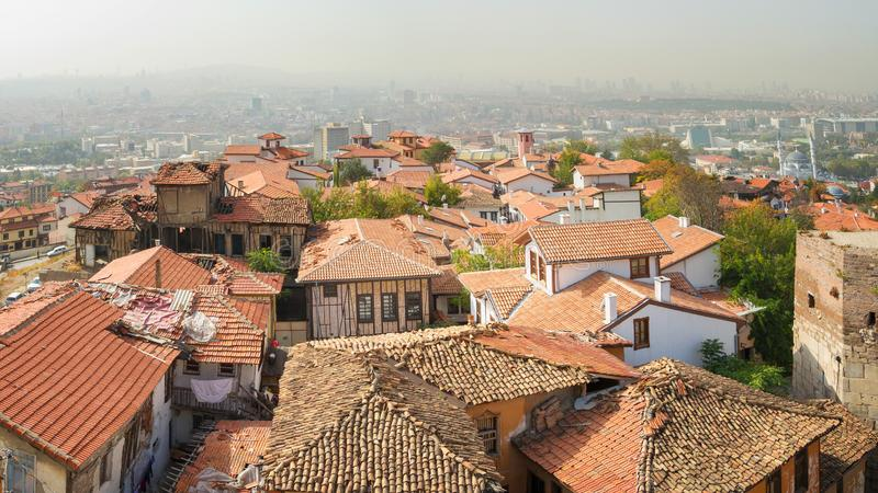 View of Ankara - Turkey. Panoramic View of Ankara - Turkey royalty free stock image