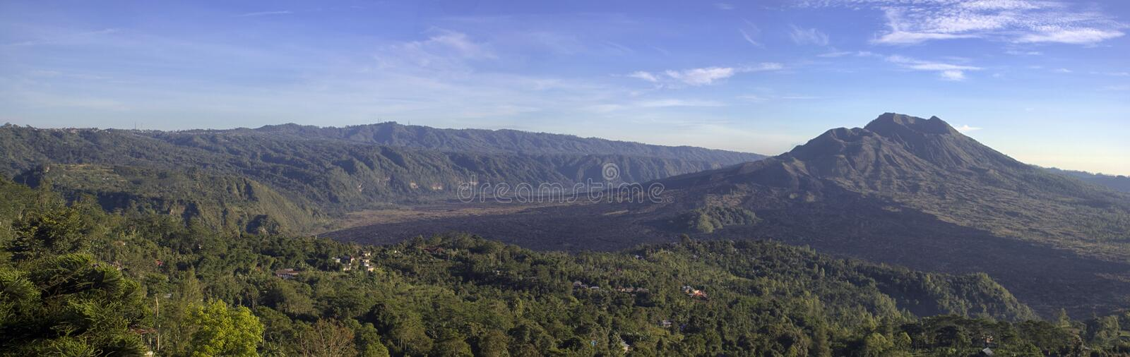 Download Panoramic View Of Balinese Mountain Stock Image - Image of background, balinese: 117027881