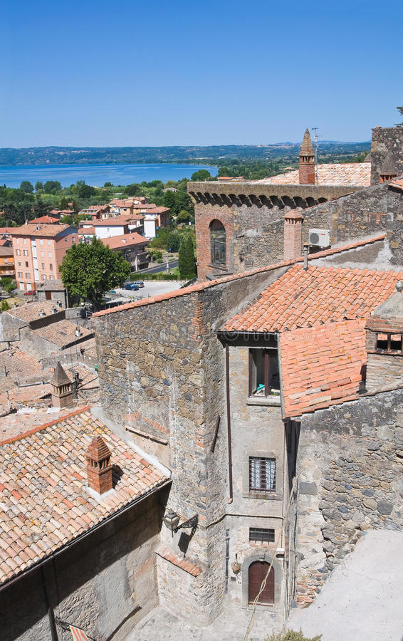 Download Panoramic View Of Bolsena. Lazio. Italy. Stock Image - Image of century, dwelling: 26500033