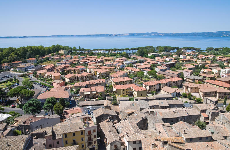 Download Panoramic View Of Bolsena. Lazio. Italy. Stock Image - Image: 26500069