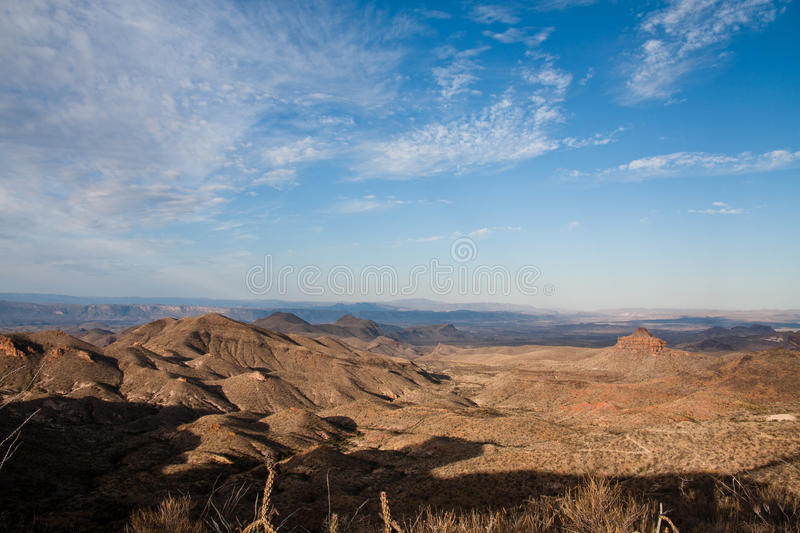 Panoramic view on the Dodson Trail royalty free stock photos
