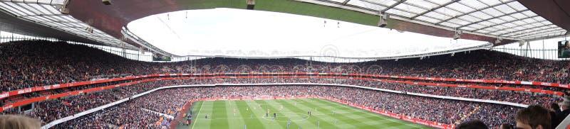 Panoramic View of Emirates Stadium royalty free stock images