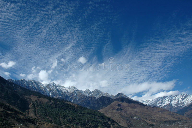Download Panoramic View In Indian Himalays. Stock Image - Image: 1853297