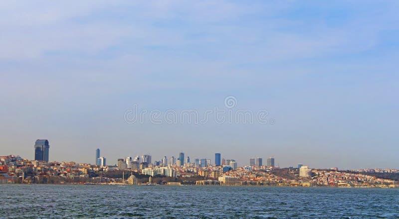 Panoramic view of Istanbul, Bosphorus stock photos