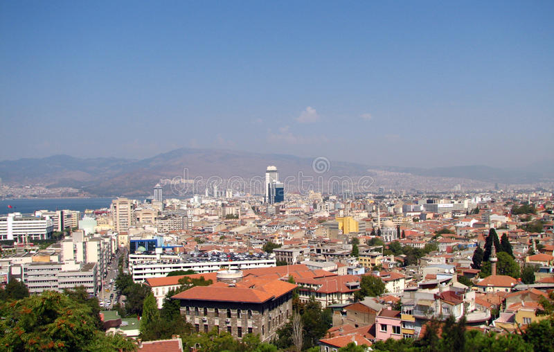 Download Panoramic view of Izmir stock image. Image of house, apartment - 26964851