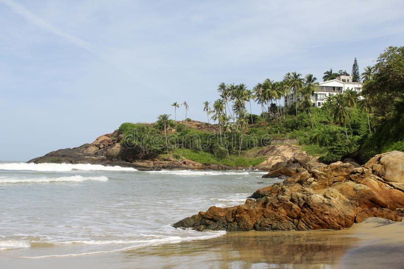 Download Kovalam beaches stock image. Image of calm, serenity - 29701425