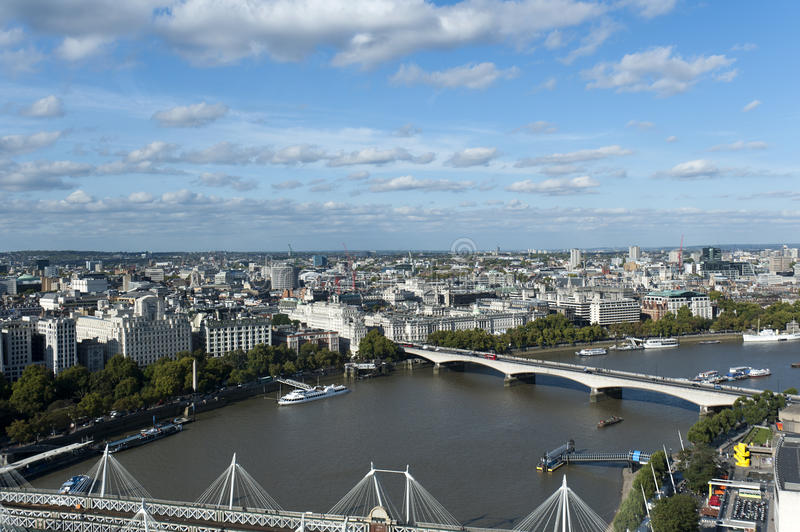 Download Panoramic view of London stock image. Image of tourist - 21497127