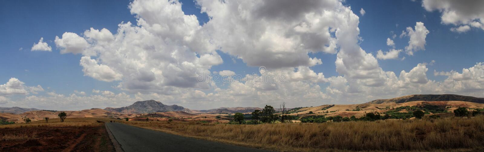 On the way to Diego Suarez, Northern Madagascar stock photography
