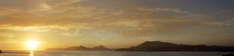 Panoramic View in Manzanillo stock photos