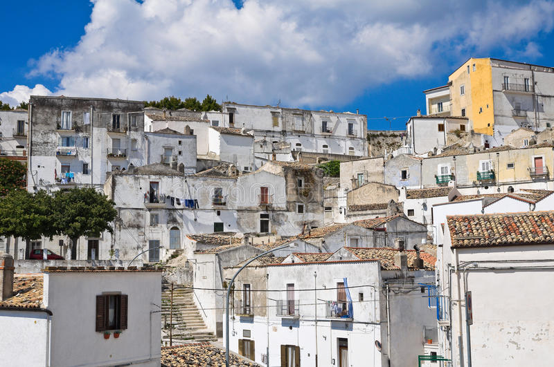 Download Panoramic View Of Monte Sant'Angelo. Puglia. Italy. Stock Image - Image: 33781395