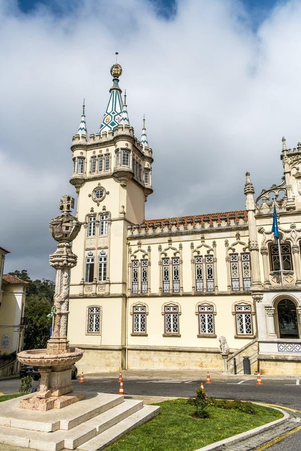 Panoramic view of Municipality of Sintra. (Camara Municipal de Sintra), Portugal stock photos