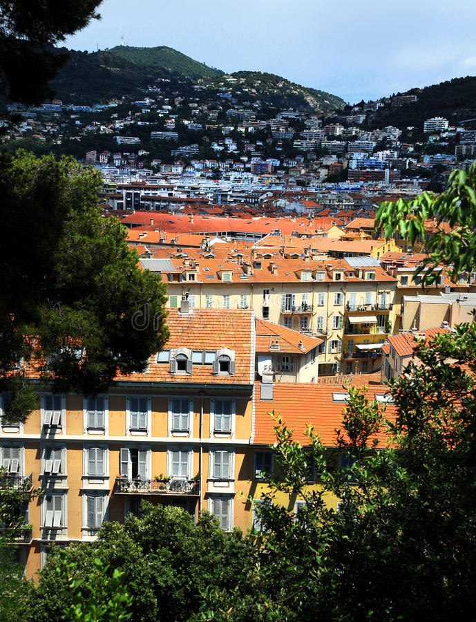 Download Panoramic View Of Nice City Stock Photo - Image: 23514356
