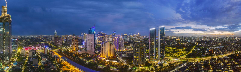 Panoramic Aerial View On Singapore Harbor Editorial Stock ...