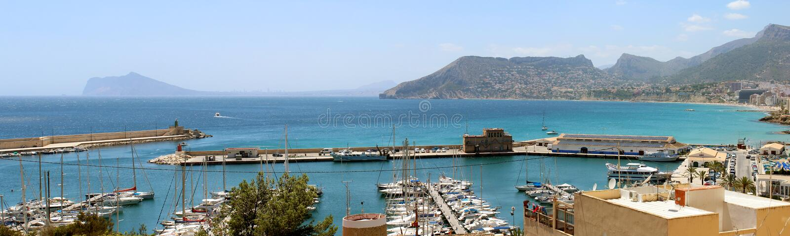 Download Panoramic View Over Calp (Spain) Stock Photo - Image: 32084024