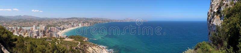 Download Panoramic View Over Calp (Spain) Stock Photo - Image of calp, salt: 32084696