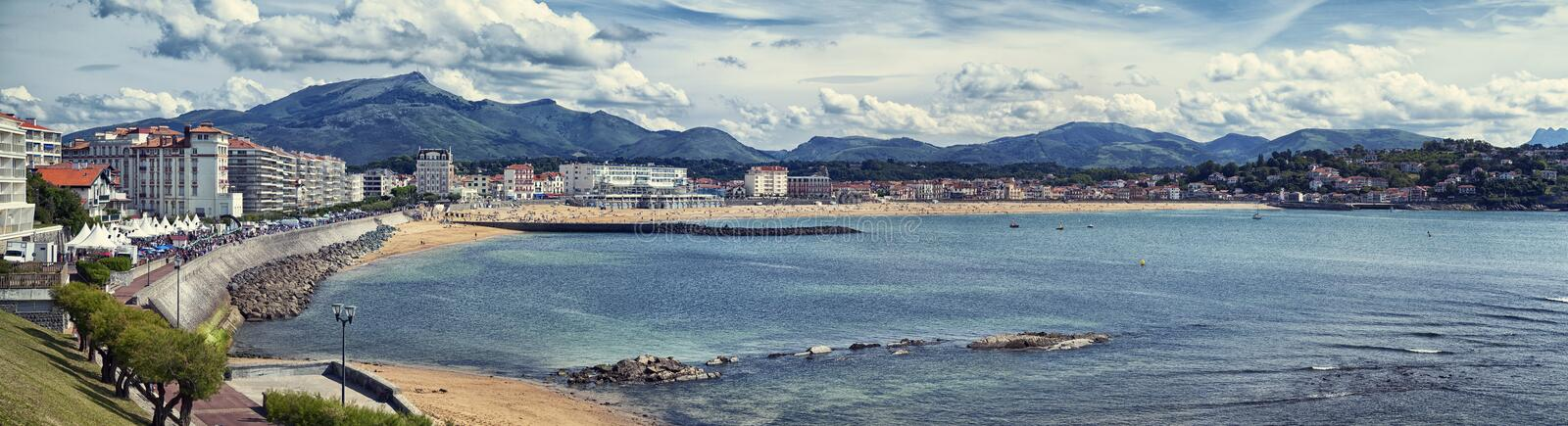 Download Panoramic View Of Saint Jean De Luz, France Stock Photo - Image: 38691224