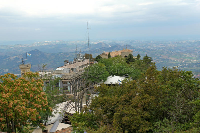 Download Panoramic View Of San Marino Stock Photo - Image: 28434240