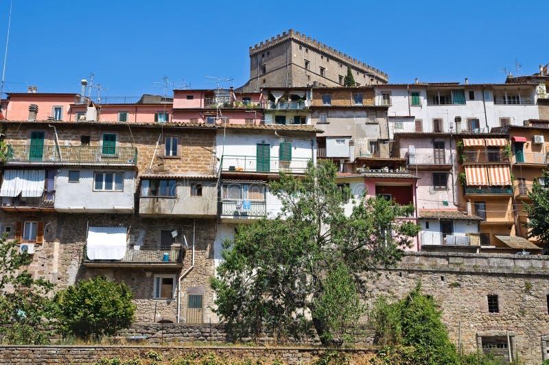 Download Panoramic View Of Soriano Nel Cimino. Lazio. Italy. Stock Photo - Image: 28275492