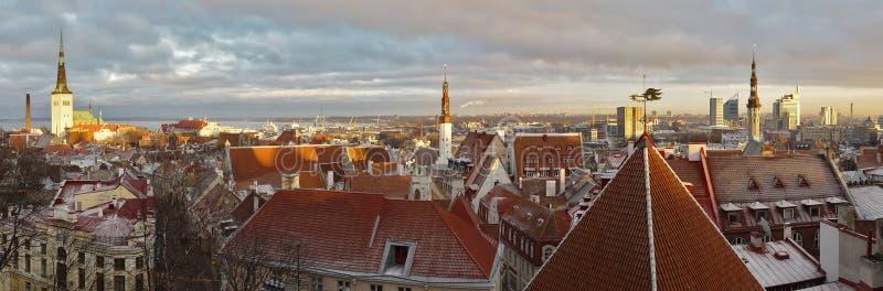 Download Panoramic View Of Tallinn, Estonia Royalty Free Stock Photos - Image: 11321208