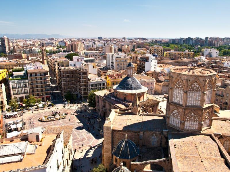 Panoramic view - Valencia stock photo
