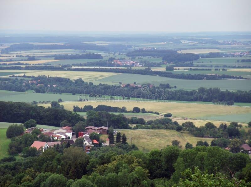 Download Panoramic View From Waldenburg Stock Image - Image: 24016579