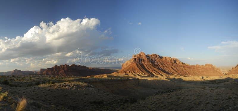 Download Panoramic Vista In San Rafael Swell In Utah Stock Photo - Image: 10543000