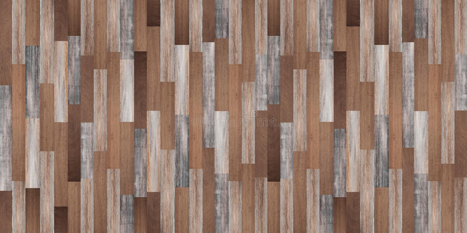 Panoramic wood texture background, Seamless wood floor. Panoramic wood texture backgrounds, Seamless wood floor royalty free stock photography