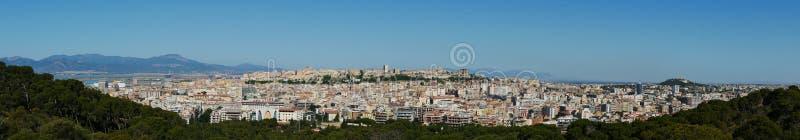 Panoramico a Cagliari immagine stock