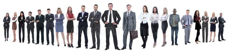 Panoramiczna fotografia fachowa mnoga biznes dru?yna zdjęcia royalty free
