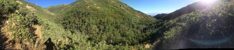 Panoramiczni halni wzgórza obraz stock