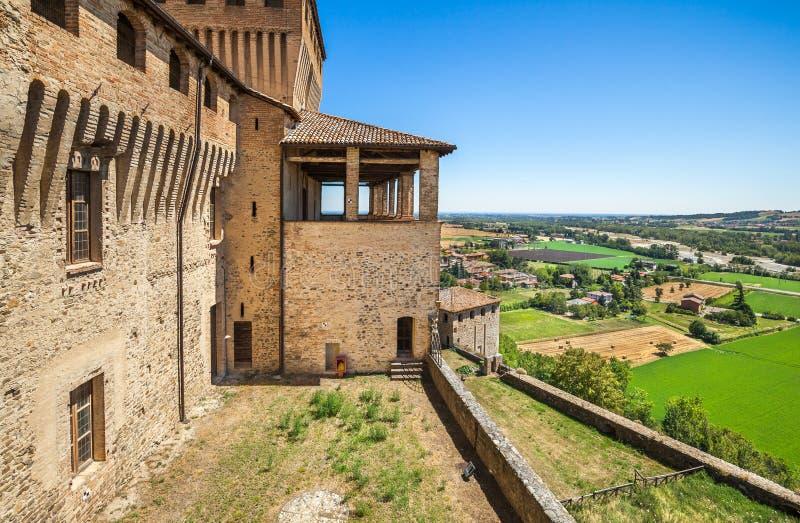 Panoramiczni widoki blisko Parma Włochy zdjęcie royalty free