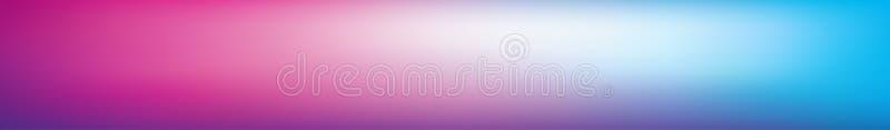 Panoramiczny abstrakt barwiący zamazany gradientowy tło ilustracji
