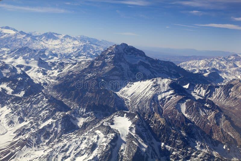 Panoramiczny Andes pasmo zdjęcie royalty free