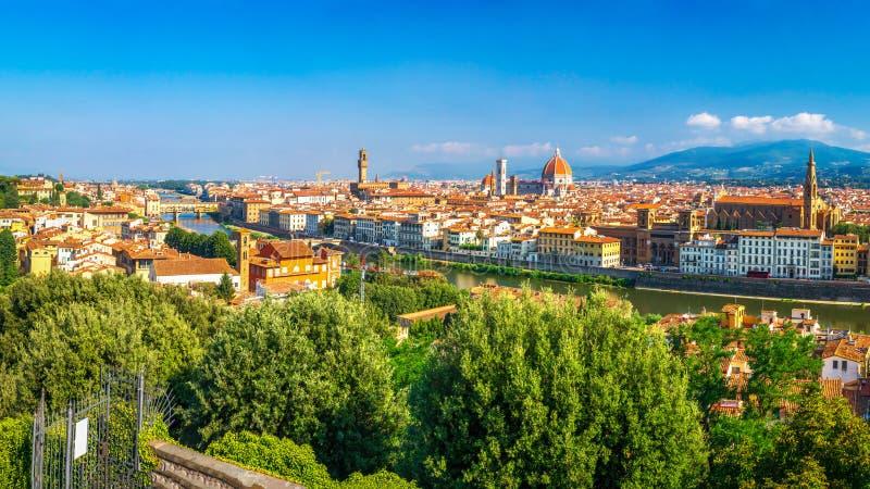 panoramiczny Florence widok Italy zdjęcie royalty free