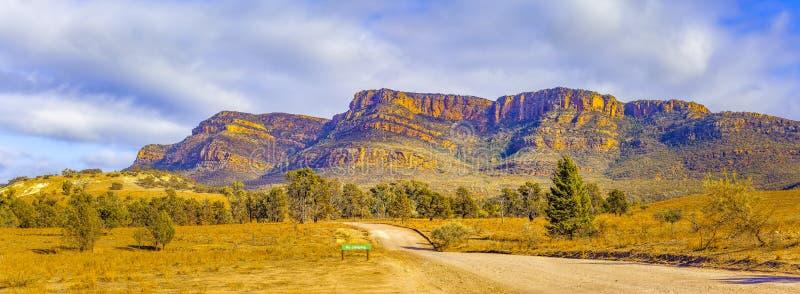 Panoramiczny krajobraz Flinders pasma zdjęcie royalty free