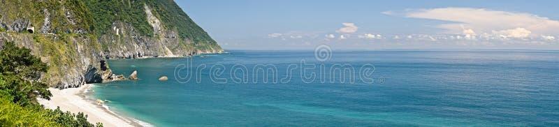 panoramiczny krajobrazowy ocean obraz royalty free