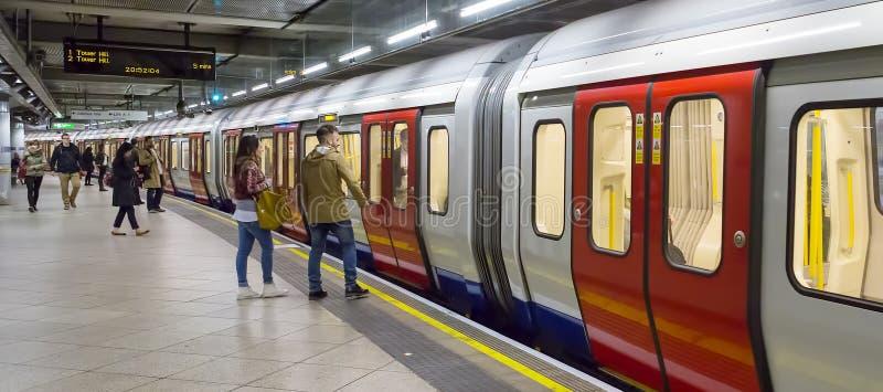 Panoramiczny metro obrazy stock