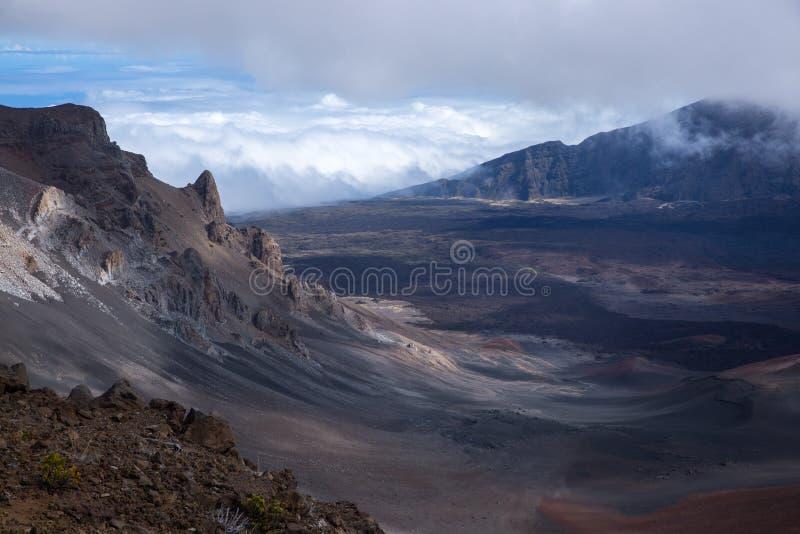 Panoramiczny szczyt Chmurnieje rollin dżin zdjęcia royalty free