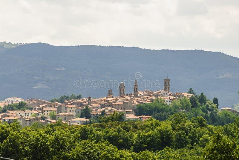 Castel Del Pianino (Tuscany) obraz stock