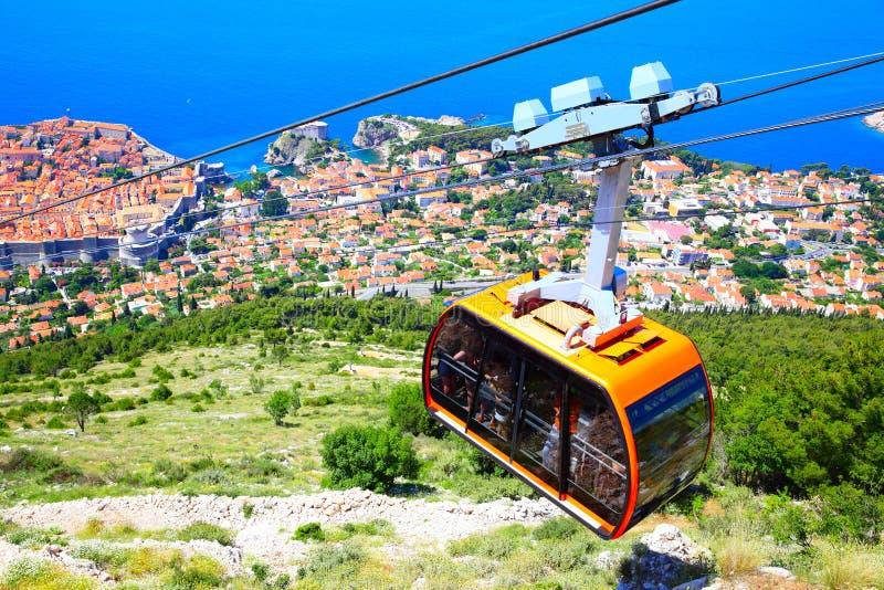 Panoramiczny widok Dubrovnik zdjęcia royalty free