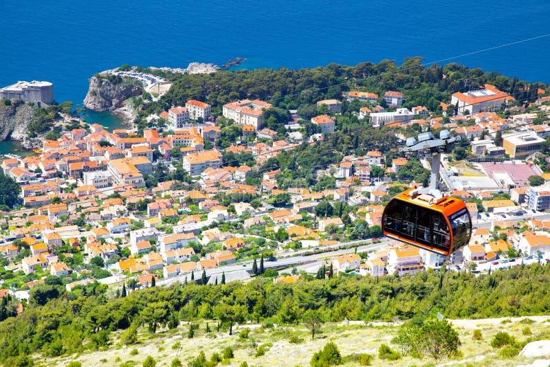 Panoramiczny widok Dubrovnik od zdjęcie royalty free