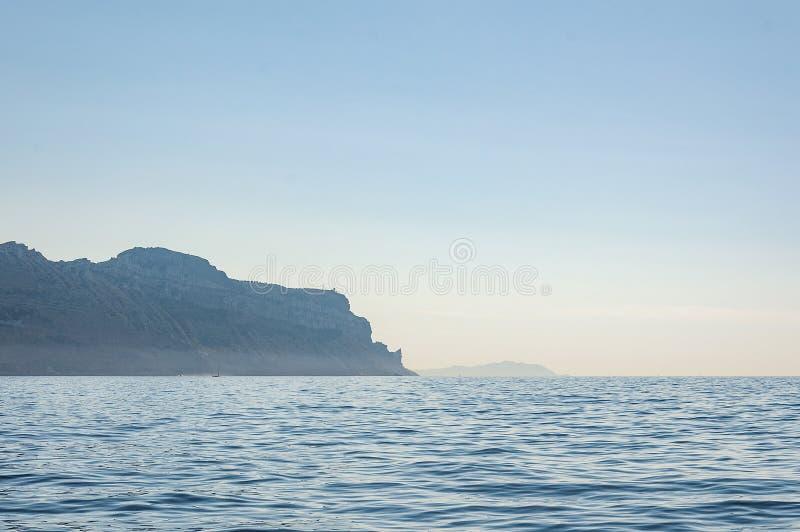 Panoramiczny widok nakrętka Canaille fotografia stock