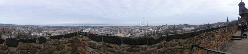 Panoramiczny widok od Grodowej skały obraz stock