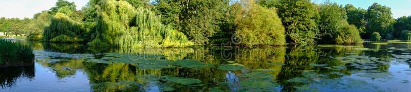 Panoramiczny widok St James ` s park w Londyn, Zjednoczone Królestwo obrazy royalty free
