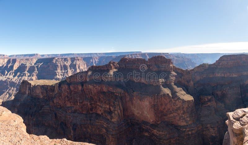 Panoramiczny widok Uroczystego jaru Zachodni obręcz - Arizona, usa zdjęcie stock