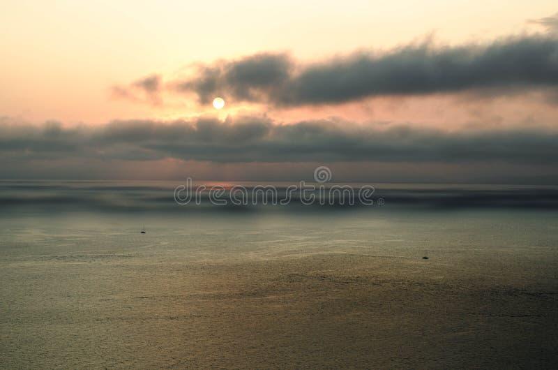 Panoramiczny widok zatoki Amur zdjęcia royalty free