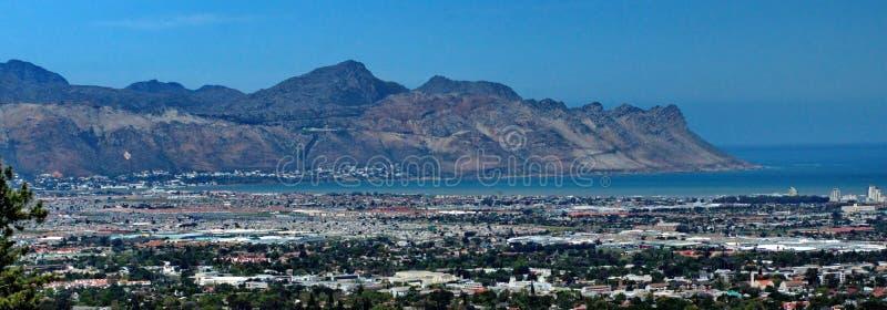 Panoramique du brin, Afrique du Sud image stock