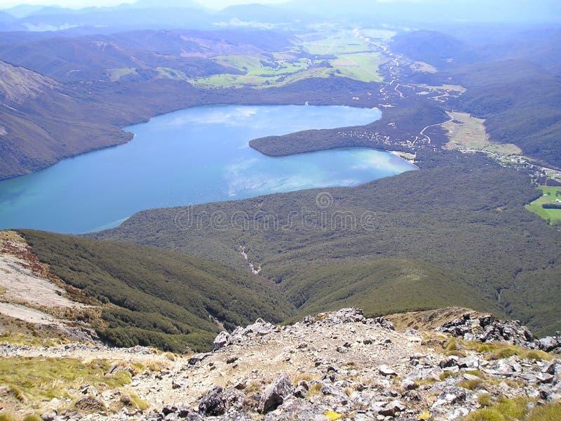 Panoramisch Meer Rotoiti royalty-vrije stock afbeeldingen