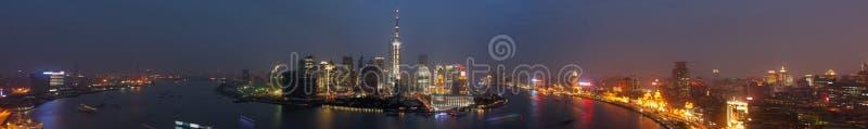 Panoramisch Shanghai royalty-vrije stock fotografie